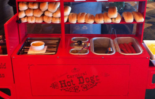 Alquiler de carritos de hot dogs Barcelona
